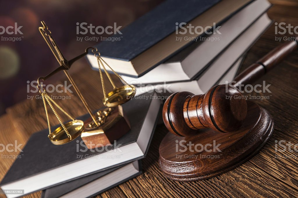 Law concept royalty-free stock photo