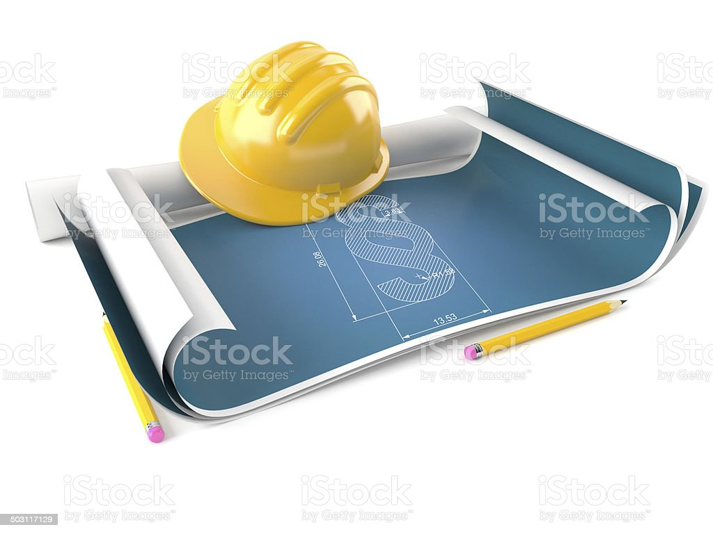 Law construction stock photo