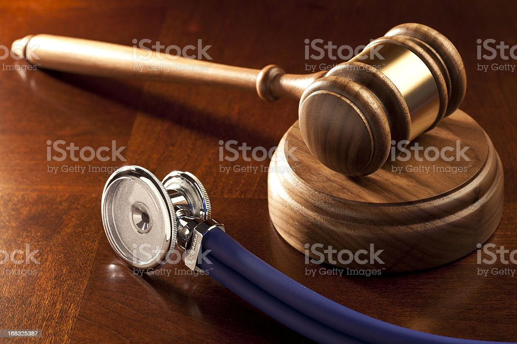 Law Firm: Medical Malpractice stock photo