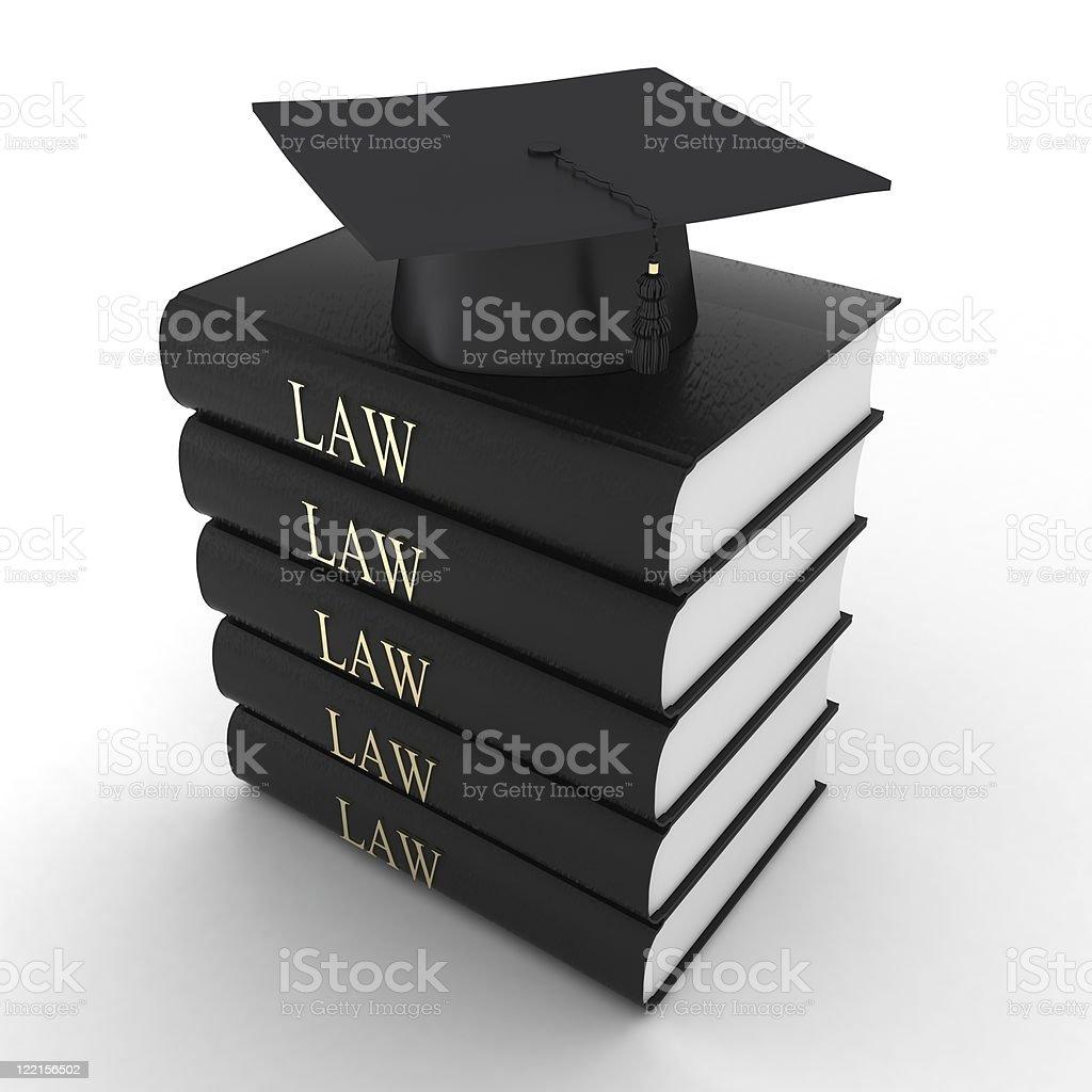 Law Graduation royalty-free stock photo