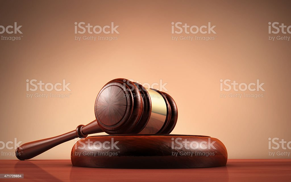 Law Judge And Justice Symbol stock photo
