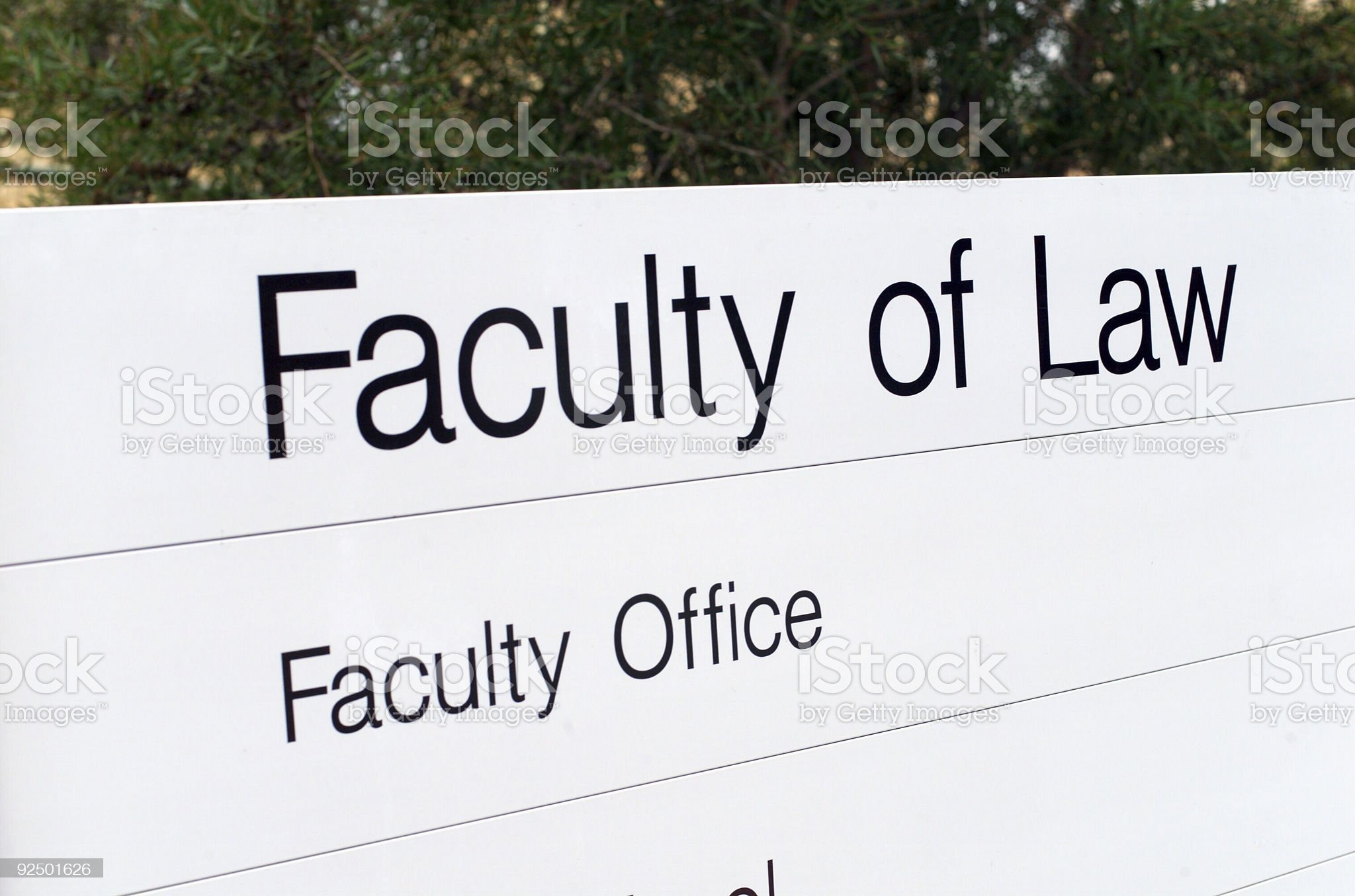 Law School royalty-free stock photo