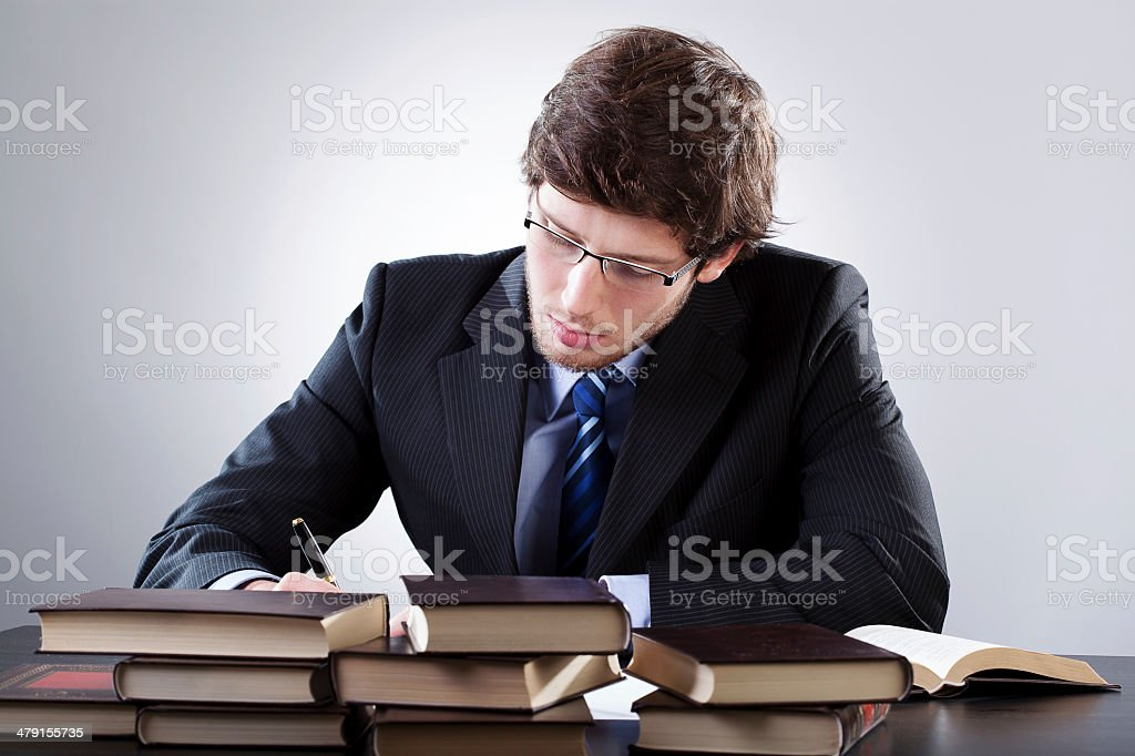 Law student stock photo