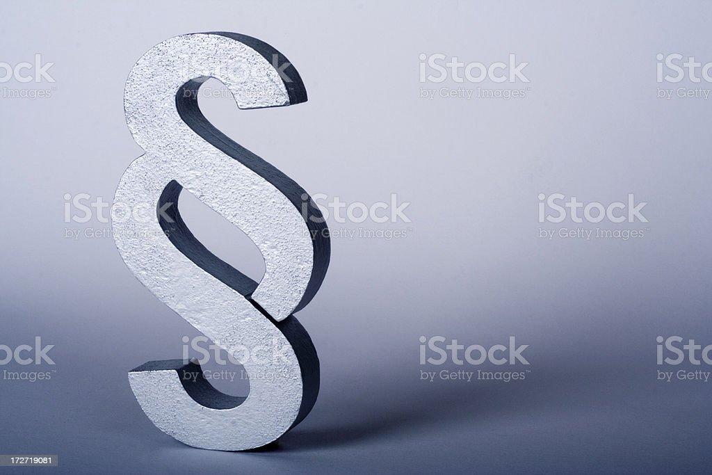 Law Symbol stock photo