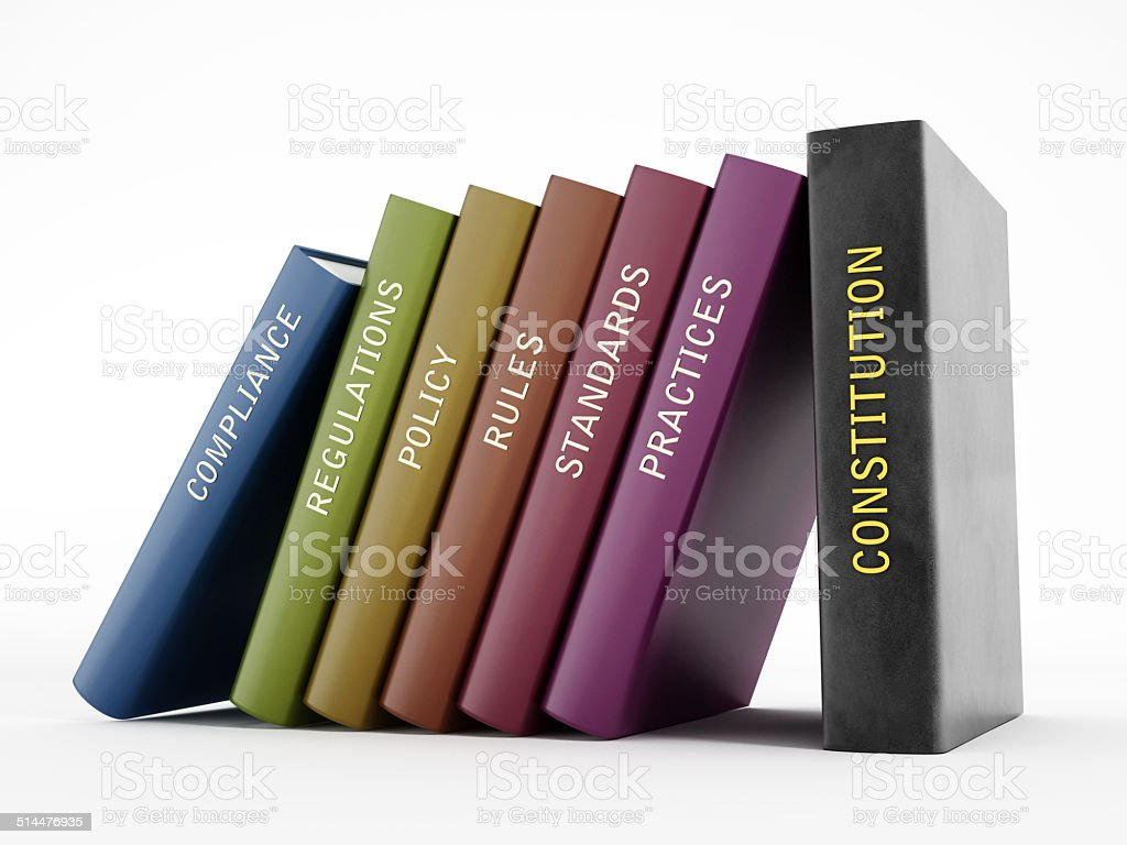 Law system stock photo