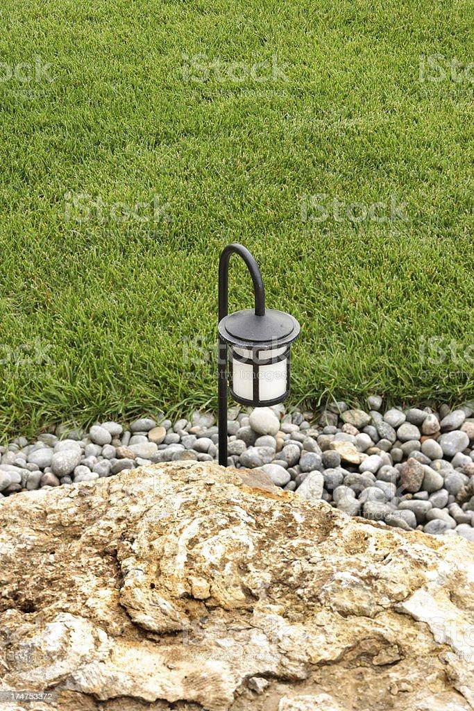 Lawn Lamp royalty-free stock photo