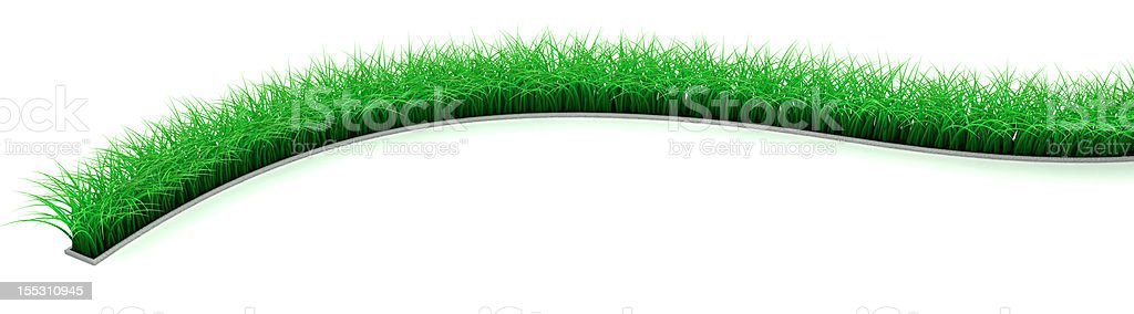 Lawn Line royalty-free stock photo