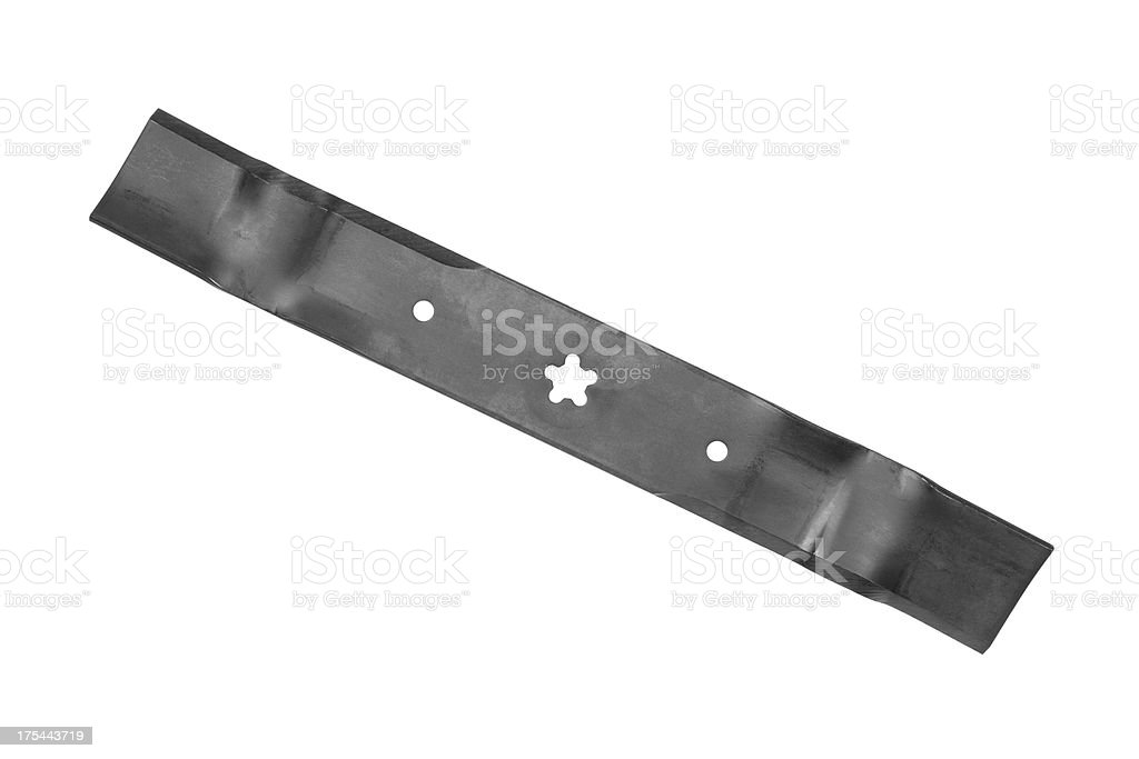 Lawn Mower Blade stock photo