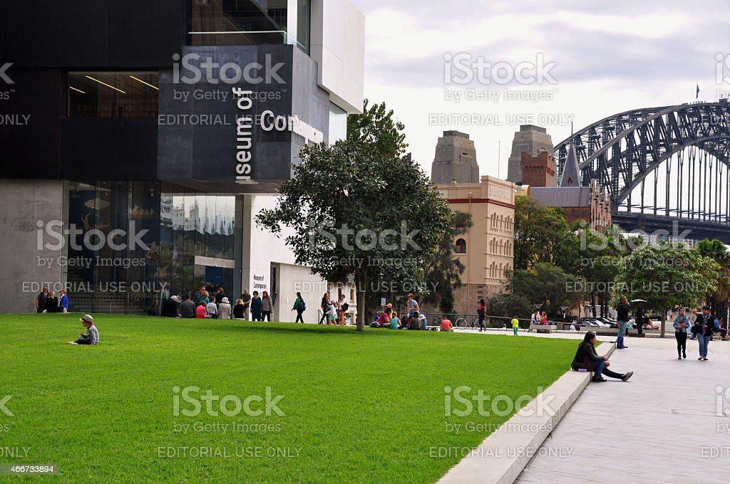 MCA Lawn stock photo