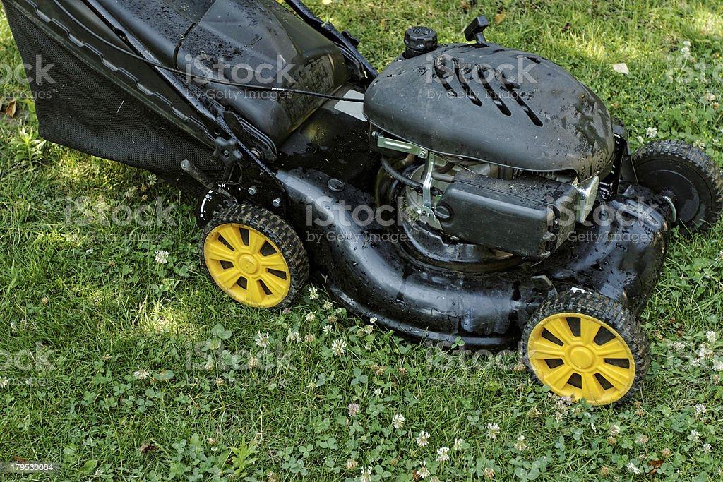 lawnmower royalty-free stock photo