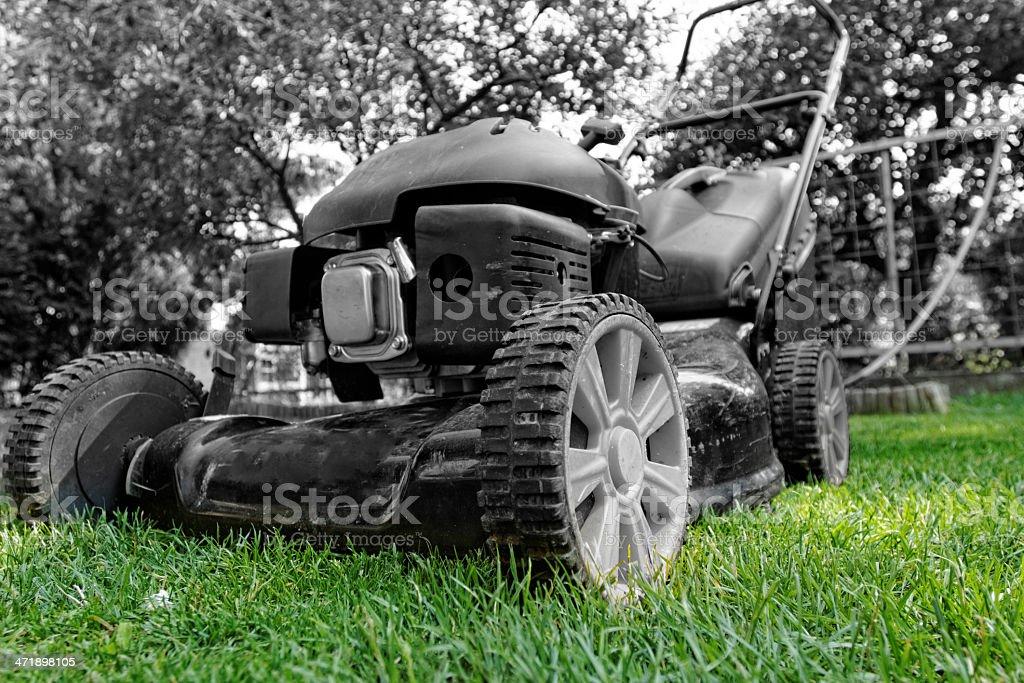lawnmower royalty-free stock photo