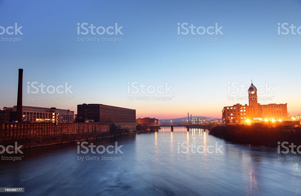 Lawrence, Massachusetts royalty-free stock photo