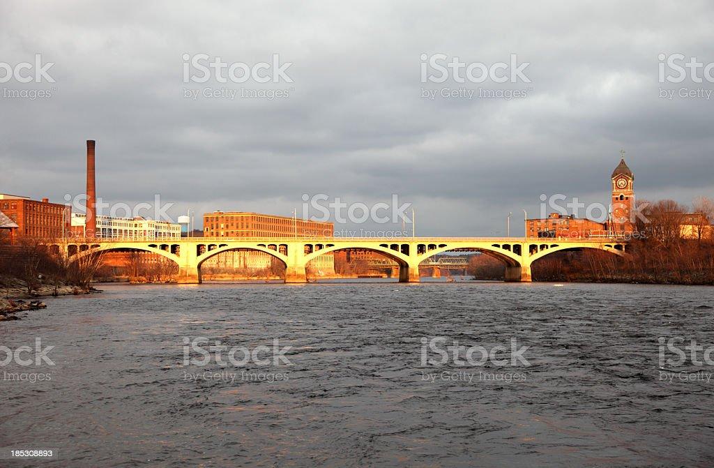 Lawrence, Massachusetts royalty-free stock photo