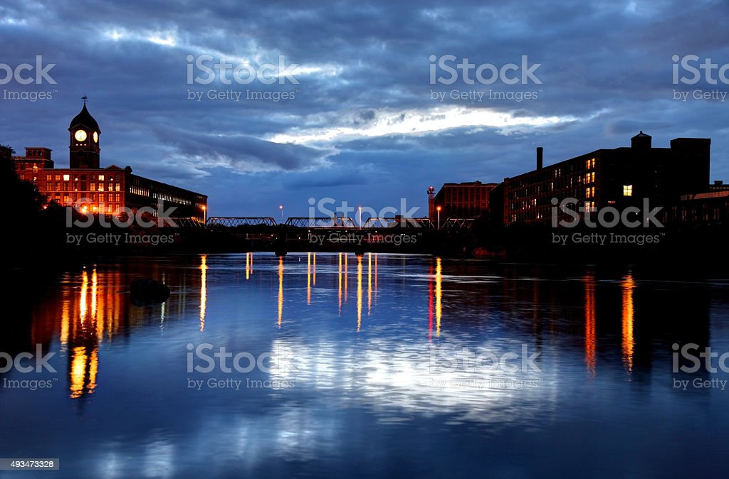 Lawrence, Massachusetts stock photo