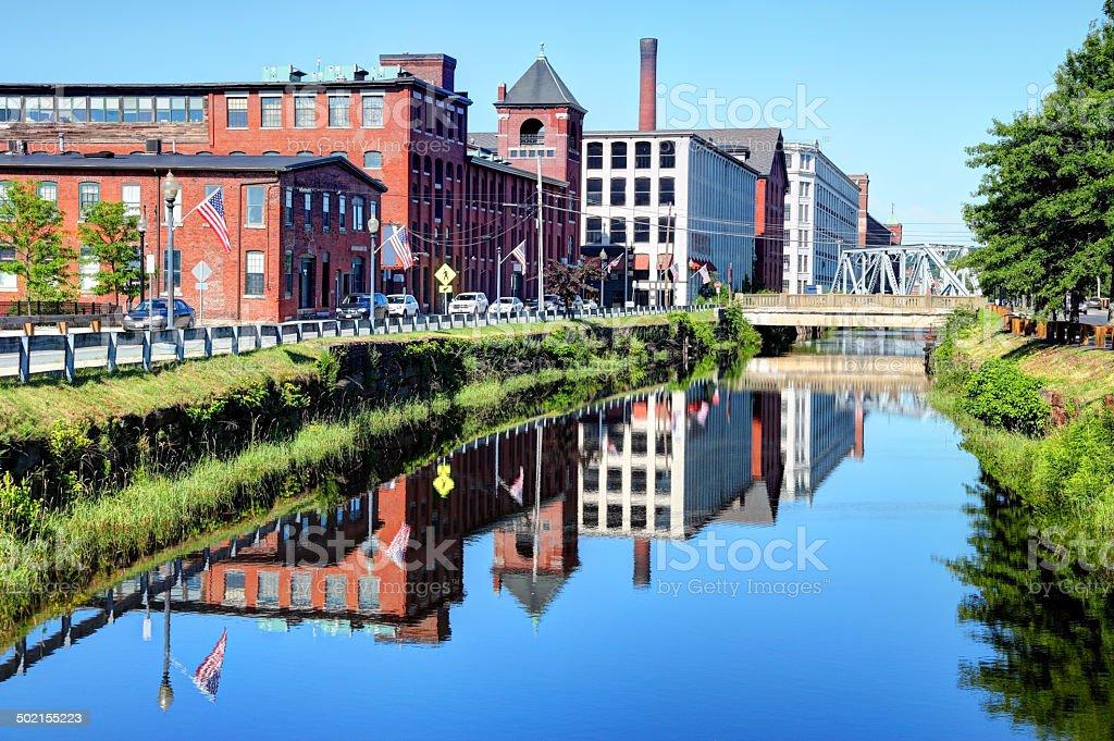 Lawrence, Massachusetts stock photo