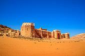 Lawrence of Arabia Movie Set Castle Wadi Rum Desert Jordan