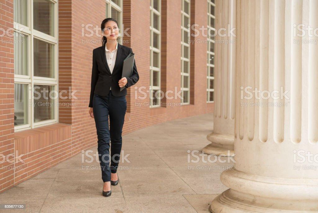 lawyer hold customer litigation case information stock photo