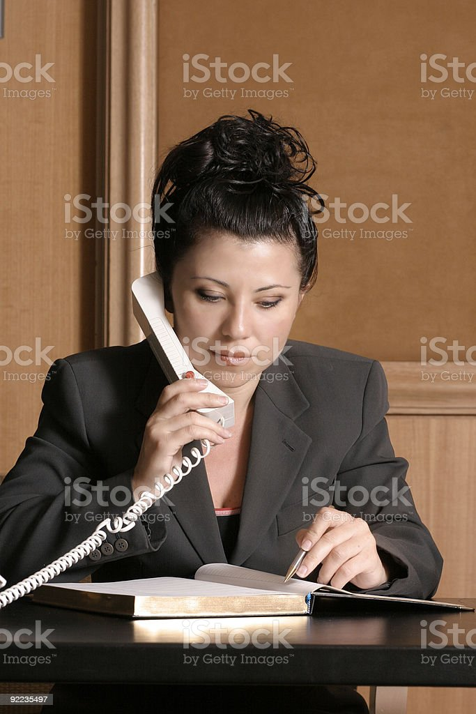Lawyer or Business professional royalty-free stock photo