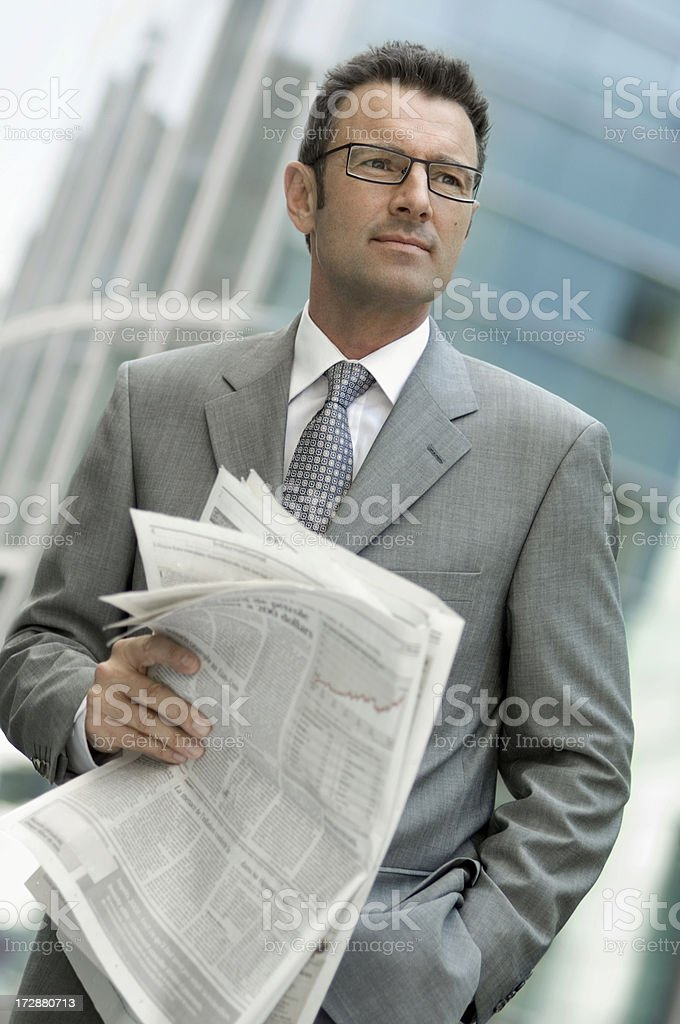 Lawyer royalty-free stock photo