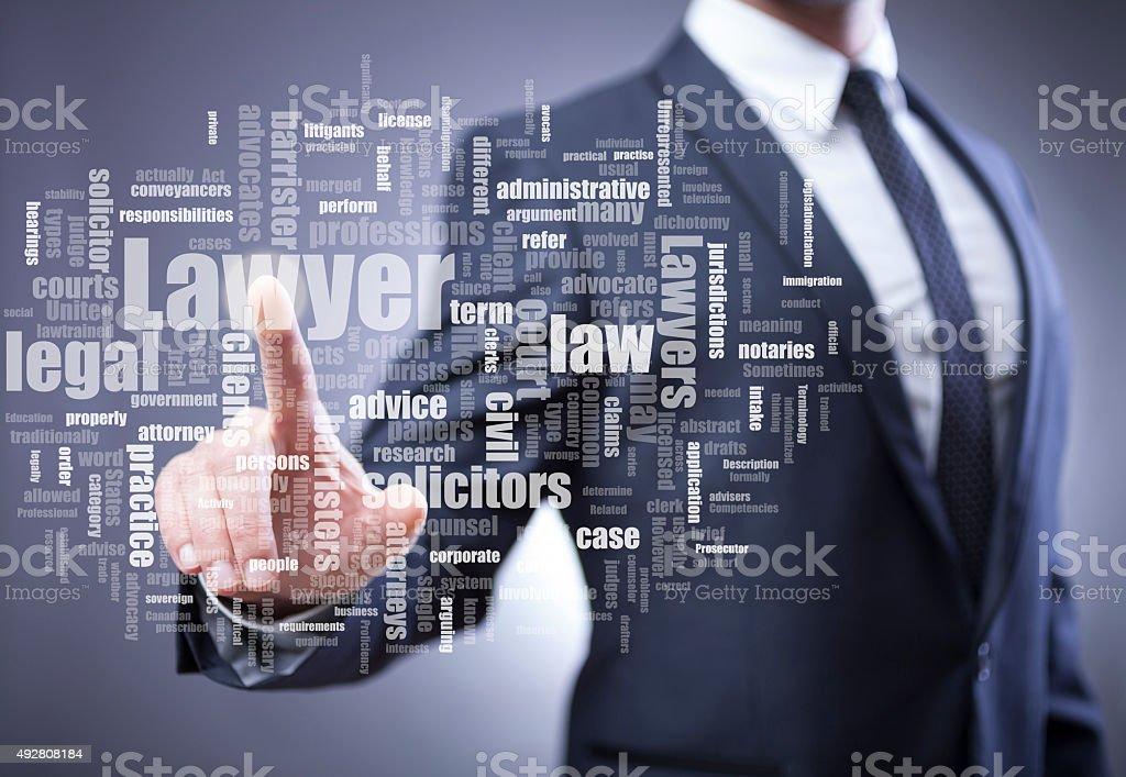 Lawyer stock photo