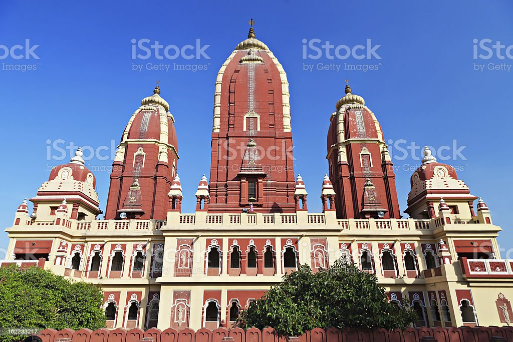 Laxmi Narayan temple royalty-free stock photo