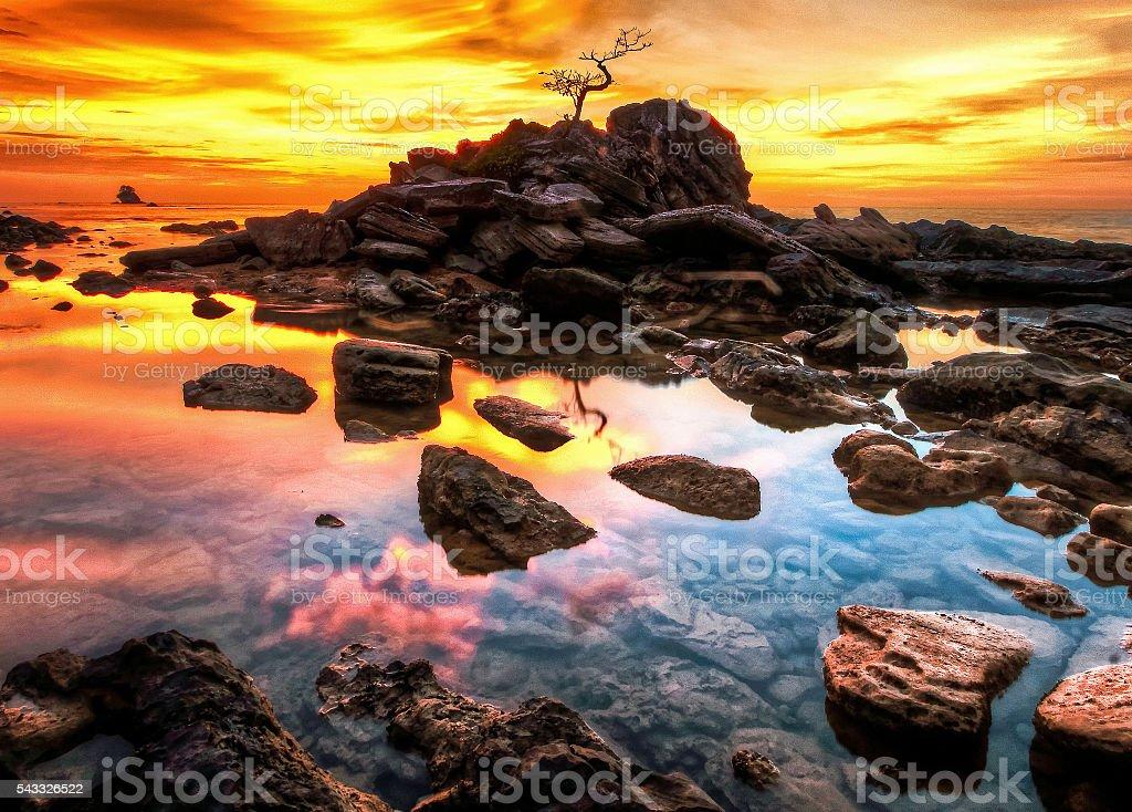 Layangan Dramatic Skys stock photo