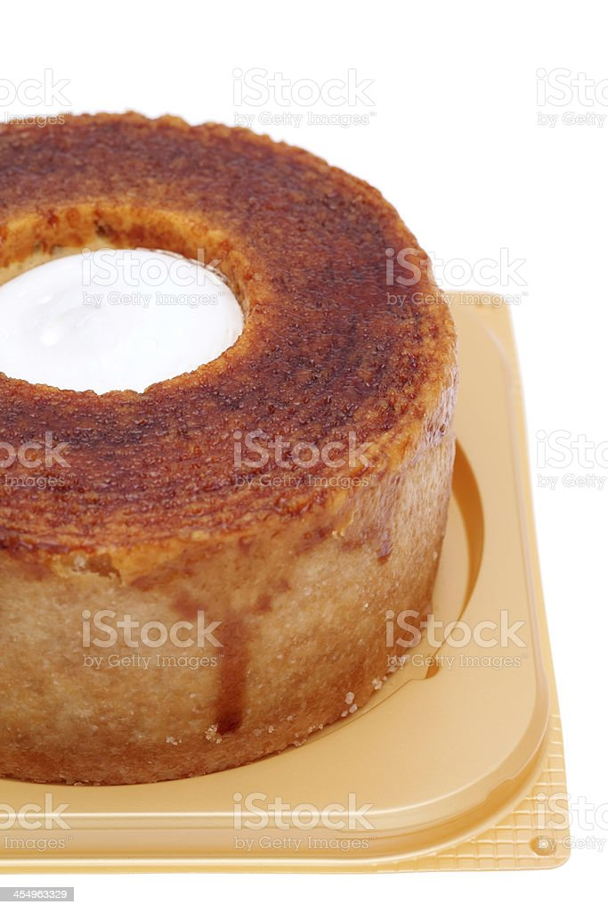 Layer cake Baumkuchen stock photo