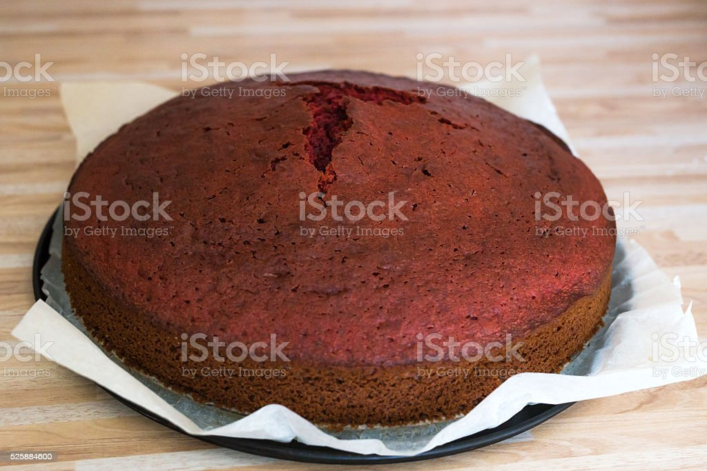 Layer cake in cake form stock photo
