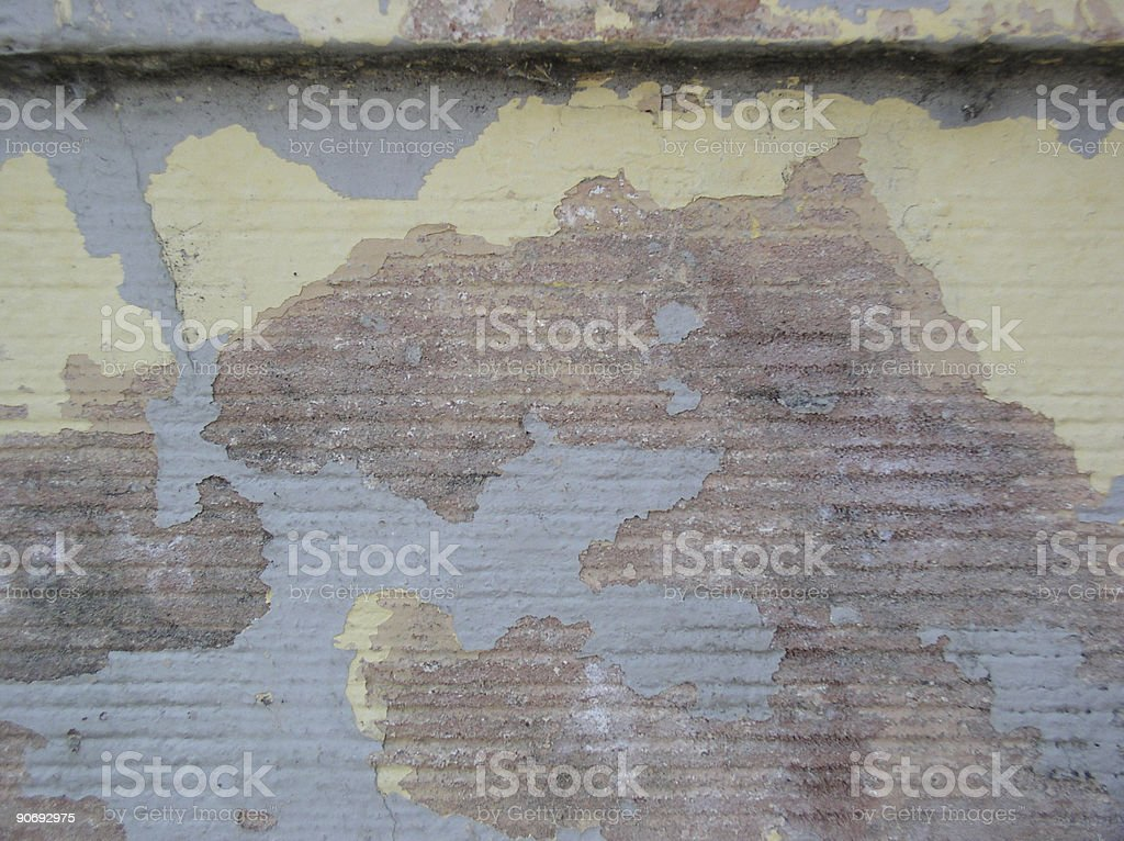 Layer of Paint royalty-free stock photo