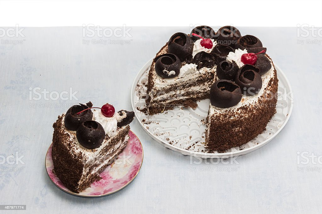 Layer-cake stock photo