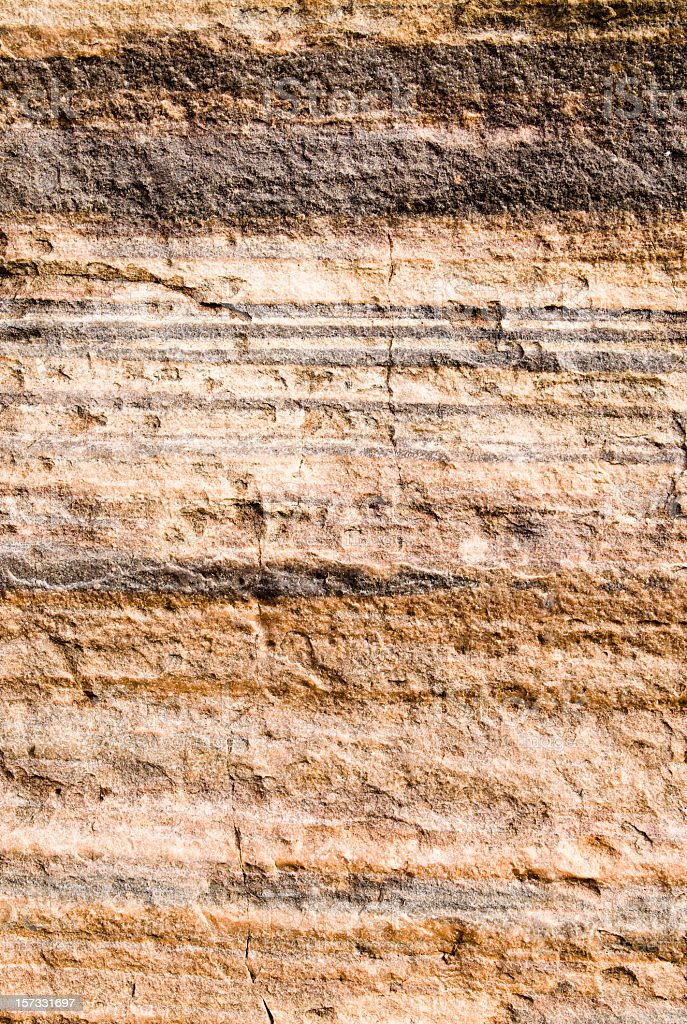 Layered Rock Background stock photo