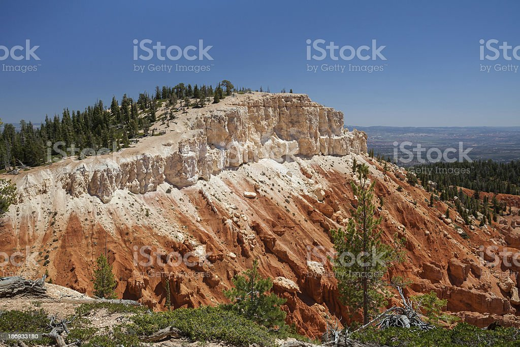 Layered Rocks, Bryce Canyon, Utah royalty-free stock photo