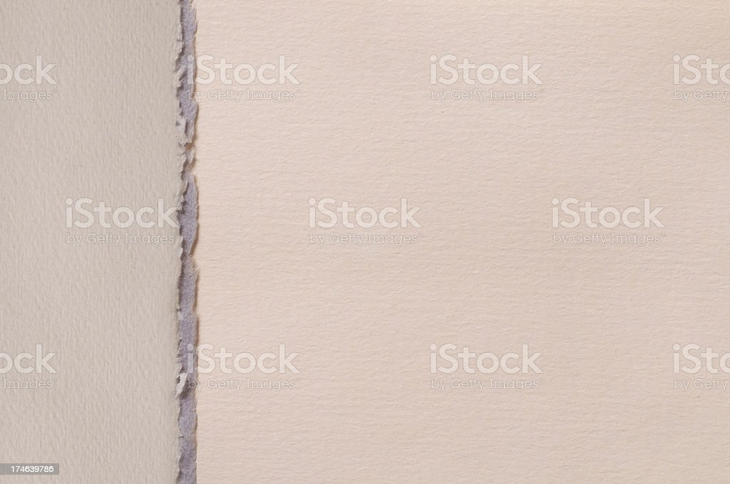 Layered torn paper royalty-free stock photo