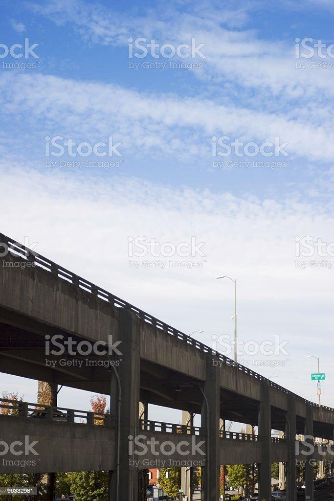 Layered Traffic royalty-free stock photo