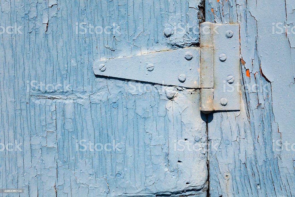 Layers of Peeling Paint stock photo