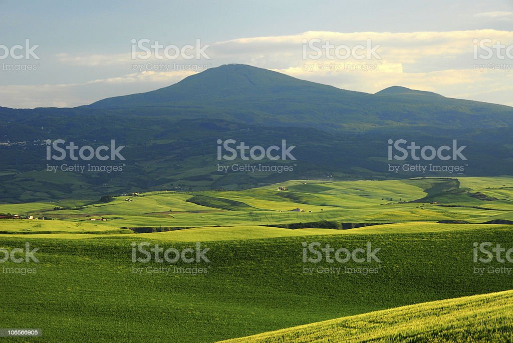 Layers of Tuscany royalty-free stock photo