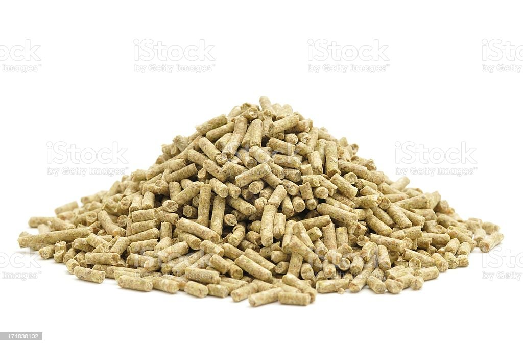 Layers pellets royalty-free stock photo
