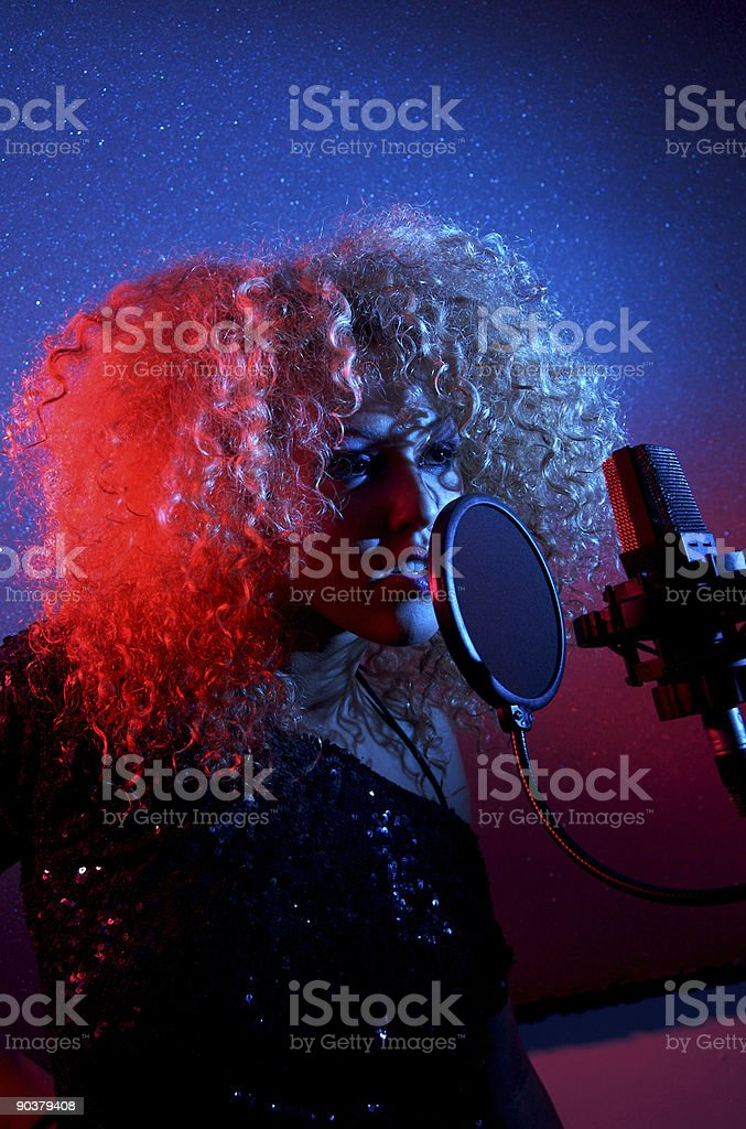 Laying Down a Track royalty-free stock photo