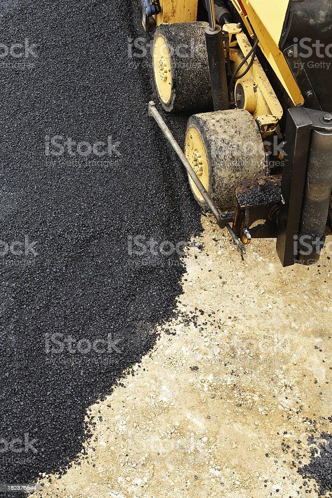 Laying tarmac royalty-free stock photo