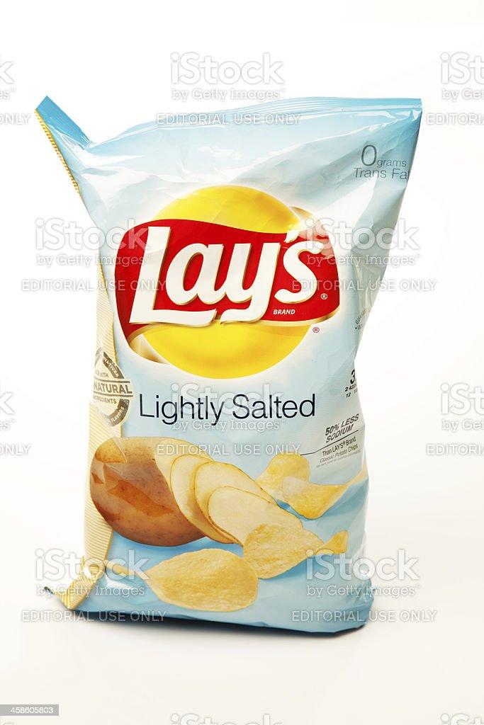 Lay's Potato Chips royalty-free stock photo