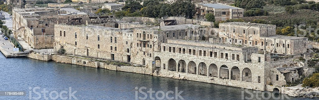 Lazaretto - Manoel Island royalty-free stock photo