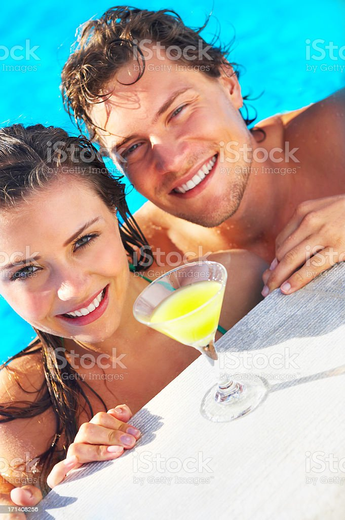 Lazing on a sunny afternoon stock photo