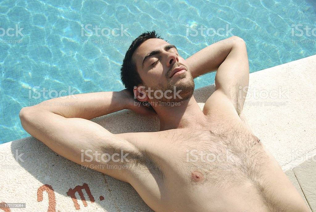 Lazing on a sunny afternoon royalty-free stock photo
