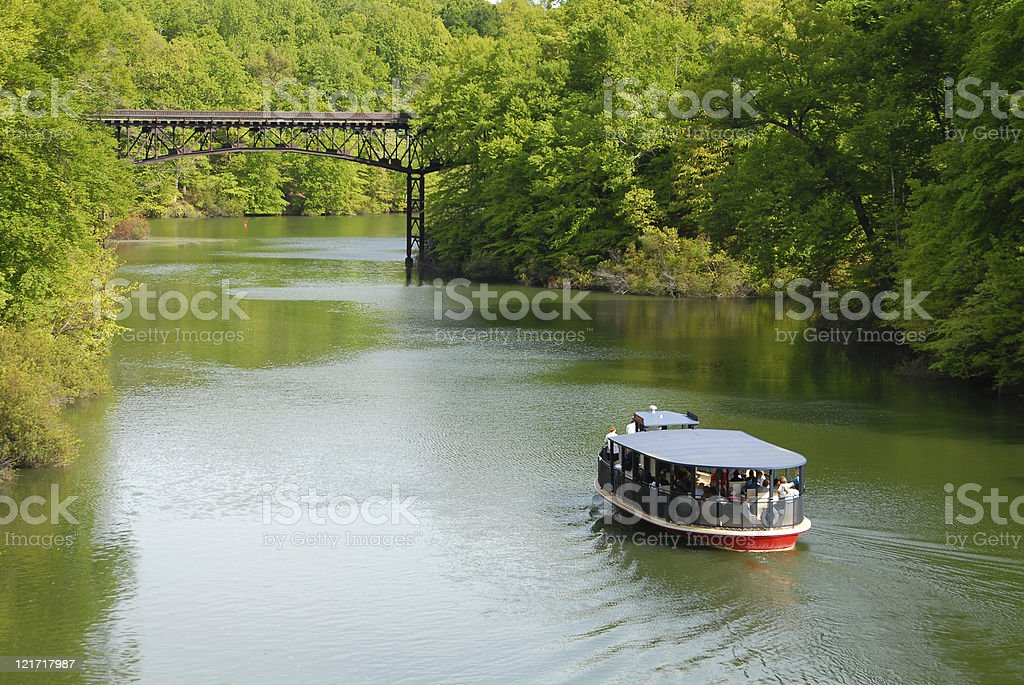 Lazy River Tour stock photo