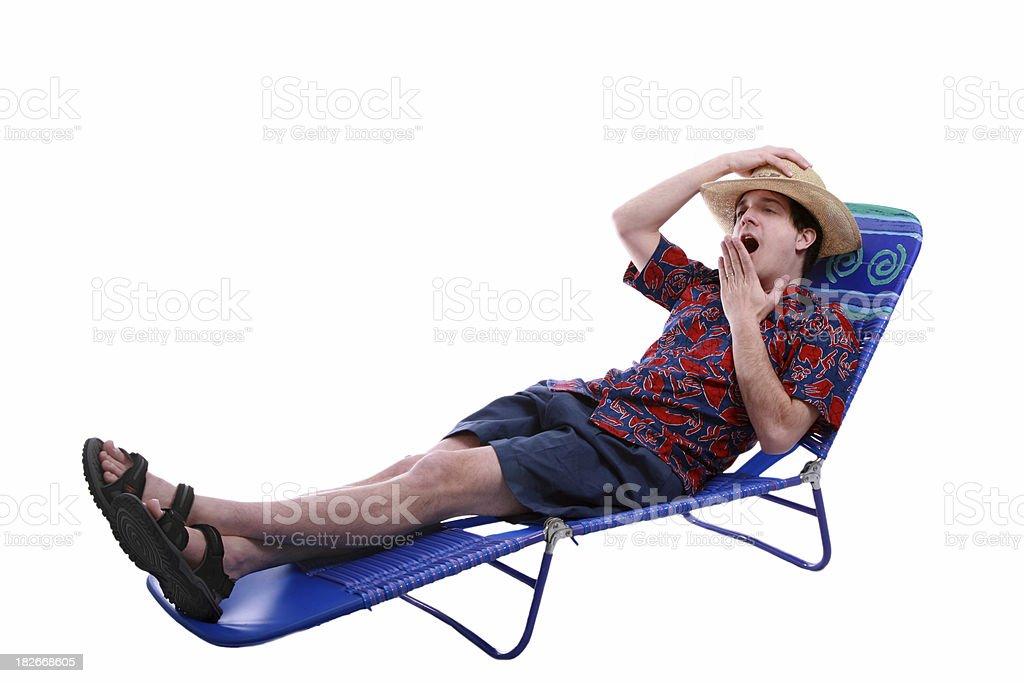 Lazy Vacation stock photo