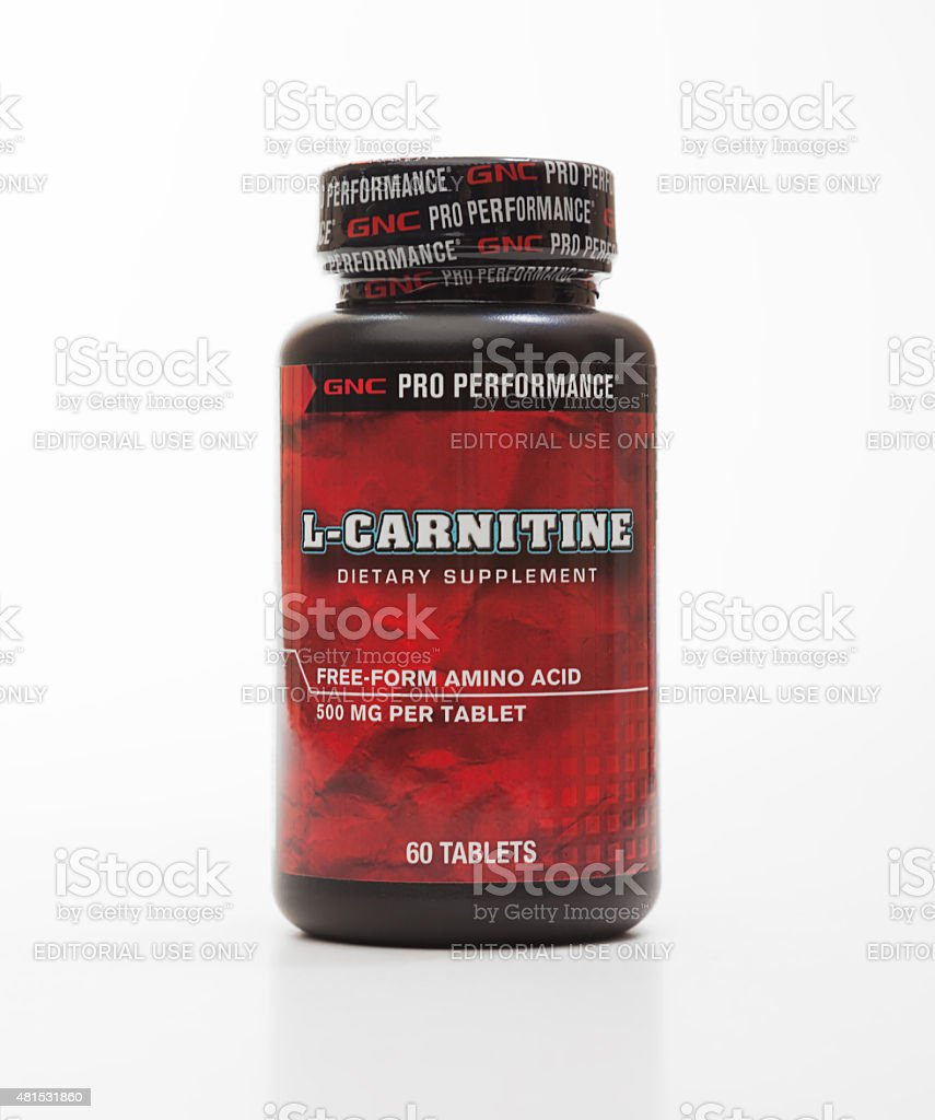 GNC L-Carnitine stock photo