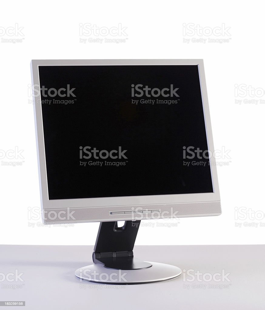 lcd computer monitor royalty-free stock photo