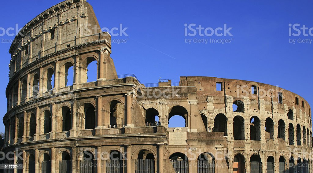 Le colis?e de Rome stock photo