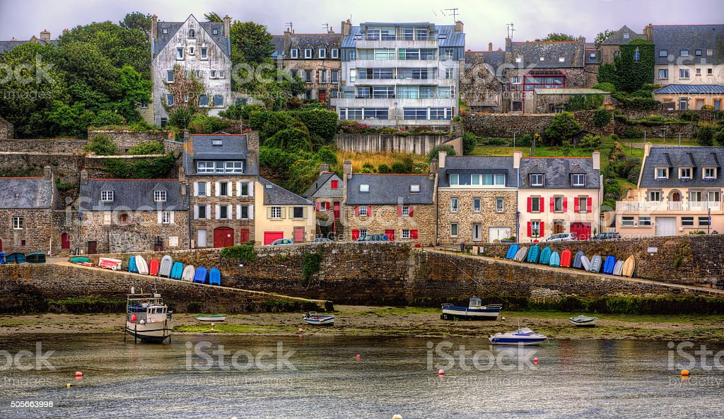 Le Conquet, Brittany stock photo