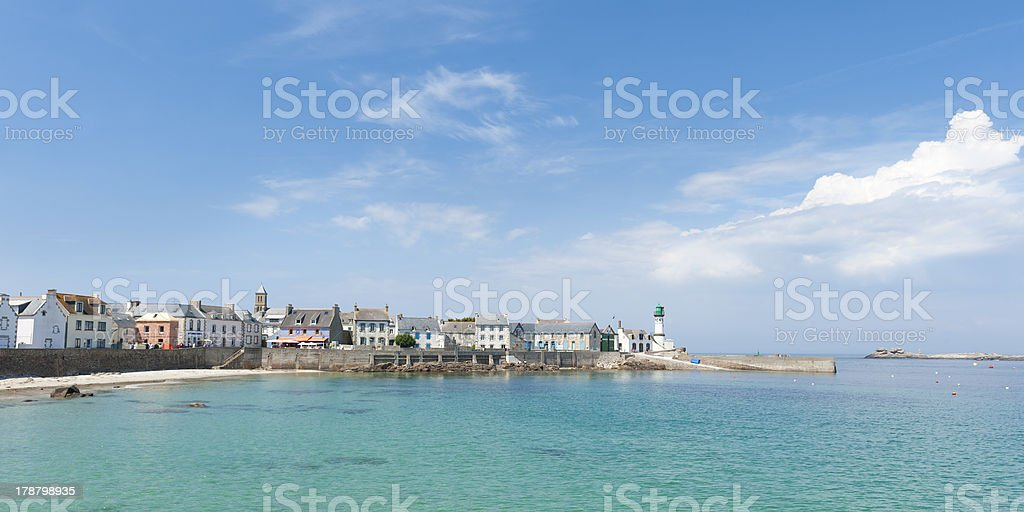 île de sein in brittany royalty-free stock photo